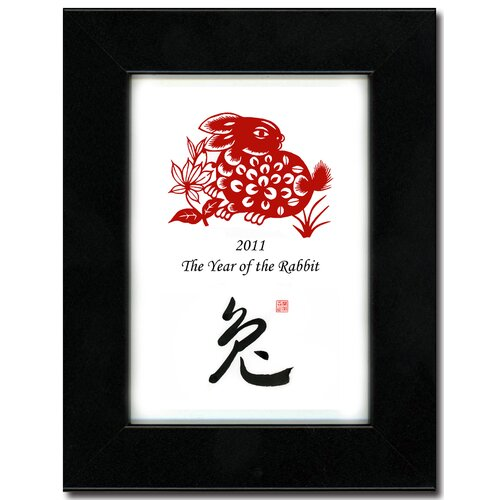 Year of the Rabbit 19 Framed Graphic Art