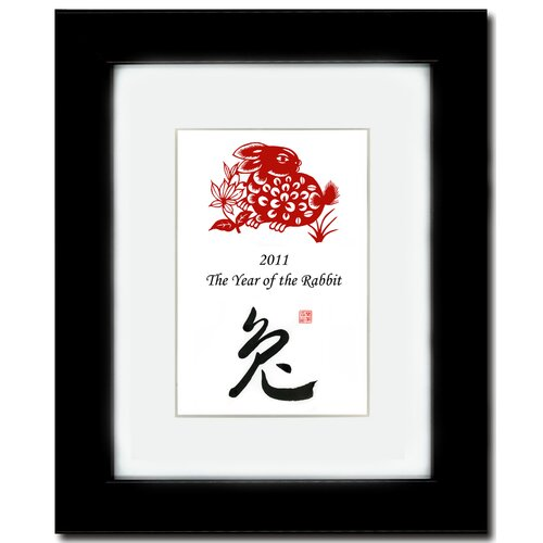 Year of the Rabbit 20 Framed Graphic Art