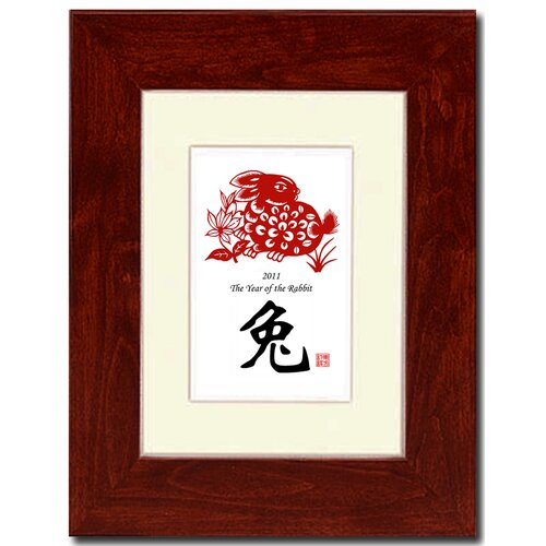 Year of the Rabbit 06 Framed Graphic Art