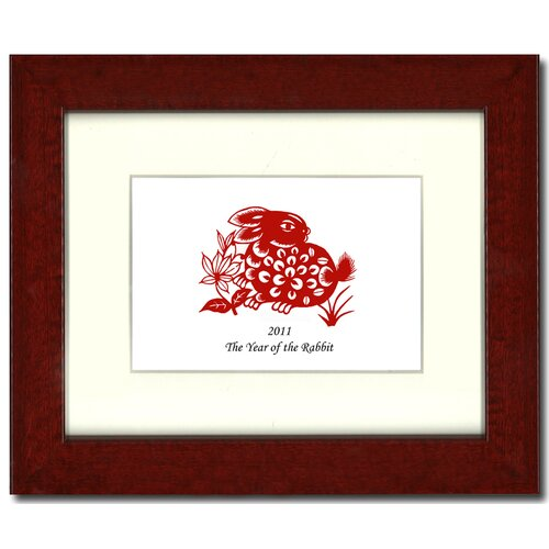 Year of the Rabbit 12 Framed Graphic Art
