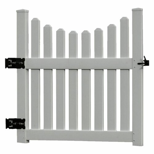 New England Arbors 4' x 4' Cottage Picket Gate