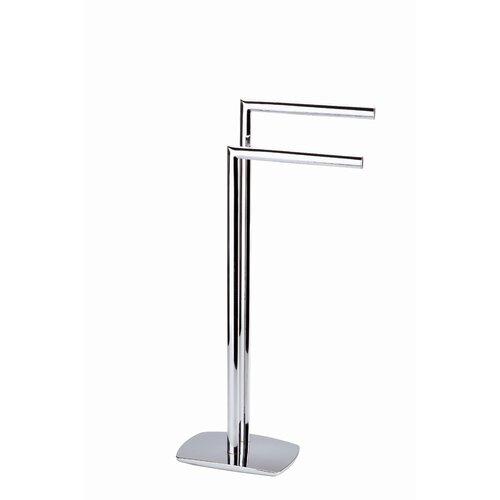 InRoom Designs Free Standing Towel Stand & Reviews | Wayfair