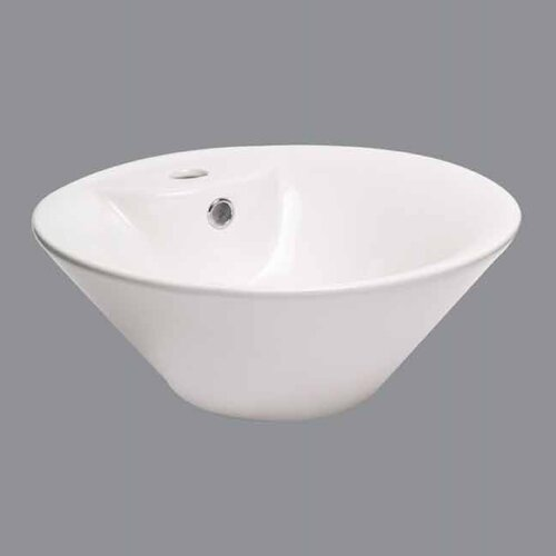 Providence Vessel Bathroom Sink with Single Hole