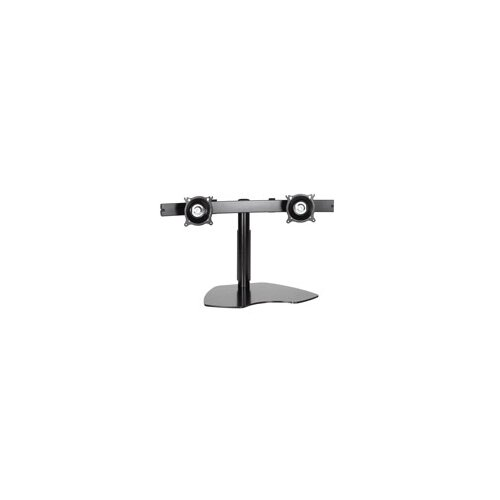 Chief Manufacturing Flat Panel Dual Horizontal Monitor Table Stand