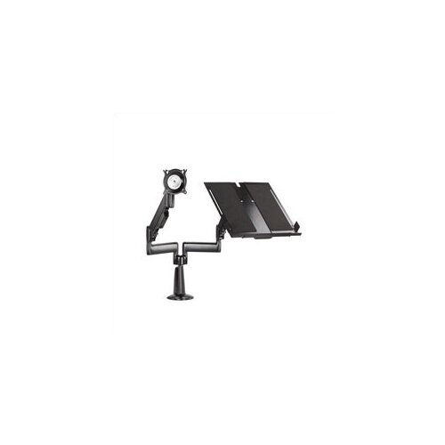 Chief Manufacturing Height Adjustable Monitor/Laptop Dual Swing Arm Desk Mount