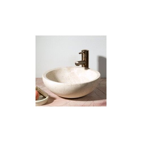 Round Vessel Bathroom Sink