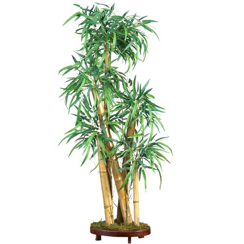 Nearly Natural Chinese Style Bamboo Tree in Planter