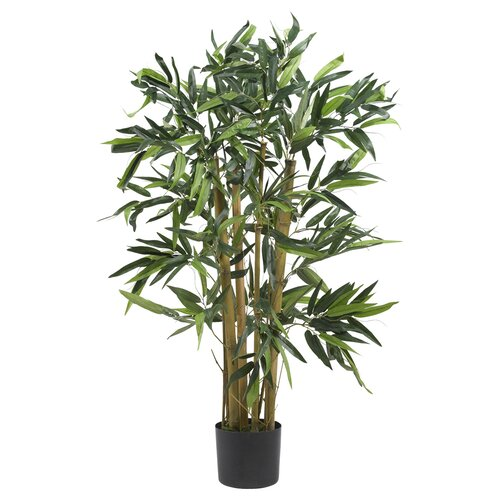 Nearly Natural Biggy Bamboo Tree in Planter