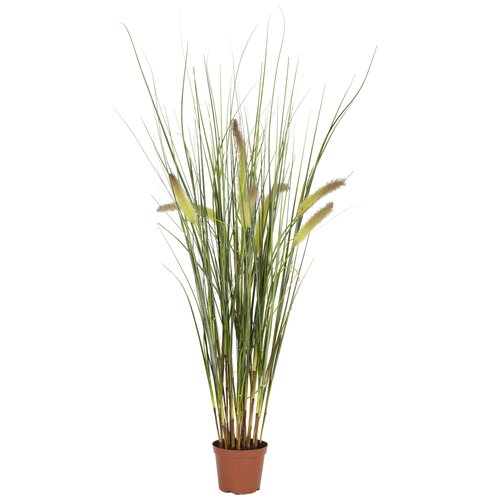Nearly Natural Grass in Round Pot