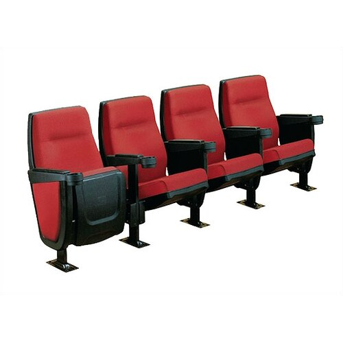 Bass Forum Row of Four Movie Theater Chairs