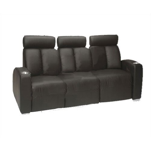 Bass Ambassador Home Theater Sofa (Row of 3)