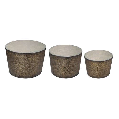 3 Piece Shaw Accent Table Set
