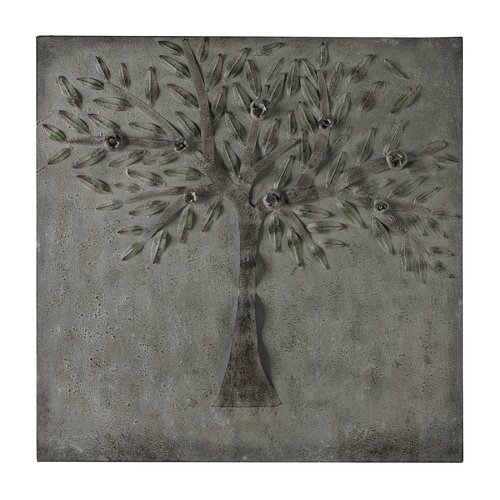 Cherry Tree in Winter Graphic Art on Canvas