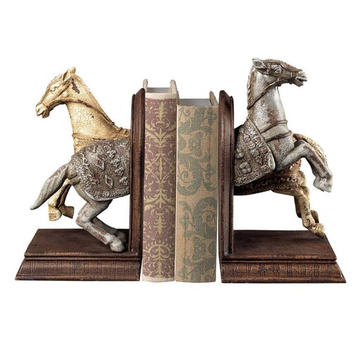 Sterling Industries Knights Horse Book Ends