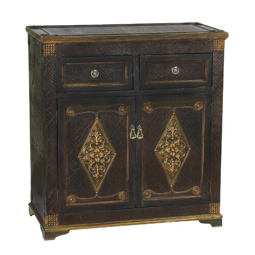 Medecci 2 Drawer Accent Cabinet