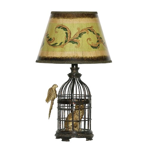 """Sterling Industries Trading Places 18"""" H Table Lamp with Empire Shade"""