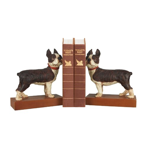 Sterling Industries Boston Terrier Book Ends