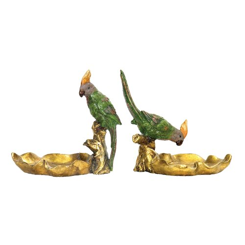 Sterling Industries 2 Piece Tropical Dish Figurine Set