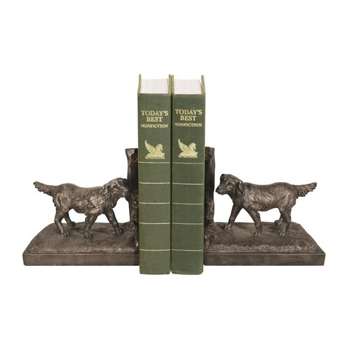 Sterling Industries Retriever Book Ends