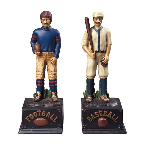Sterling Industries Favorite Pasttimes Book Ends