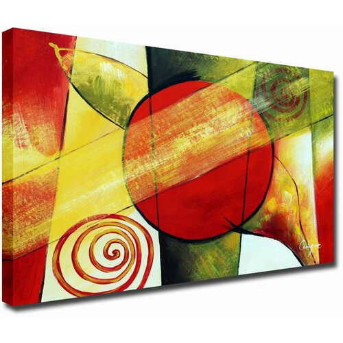 White Walls Modern Impressions Contemporary Original Painting on Canvas