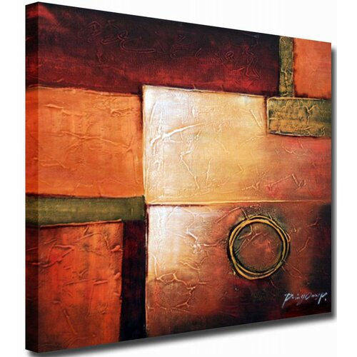 White Walls Beauty Original Painting on Canvas