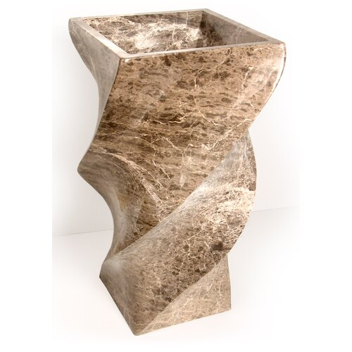 Elica Pedestal Bathroom Sink