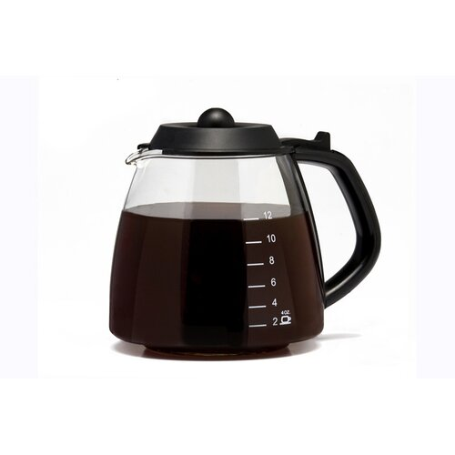 Universal 12 Cup Millennium Style Glass Replacement Carafe