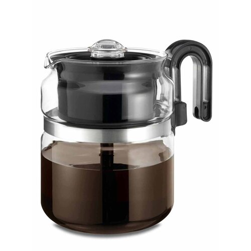 8 Cup Stovetop Glass Percolator