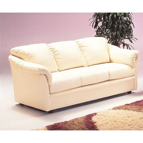 Salerno Leather Sleeper Sofa