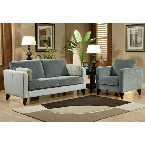 Omnia Furniture Bradford Leather Chair