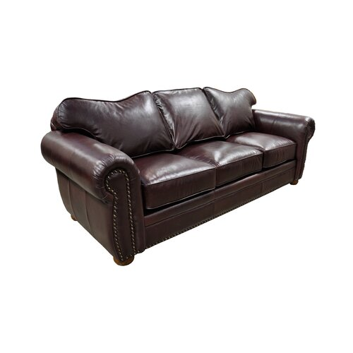 Monte Carlo Leather Sleeper Sofa