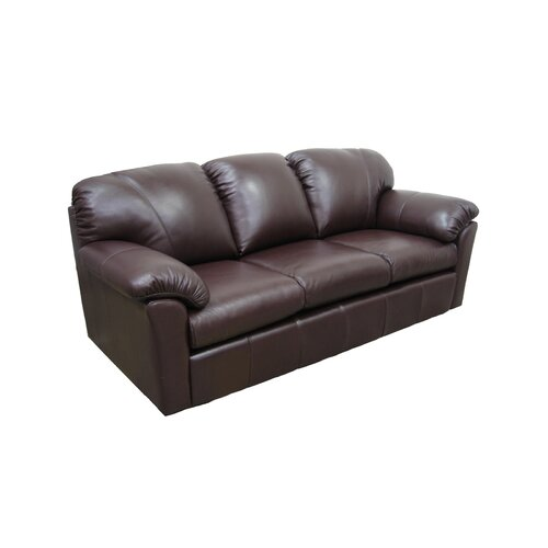 Omnia Furniture Tahoe Leather Sofa