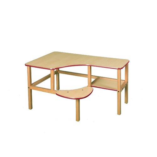 Wild Zoo Grade School Computer Desk