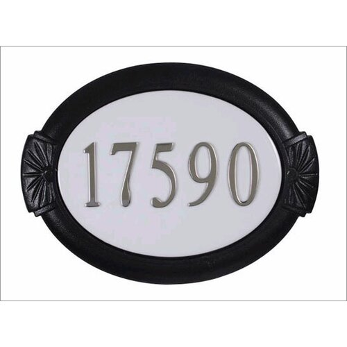 Special Lite Products Classic Address Plaque