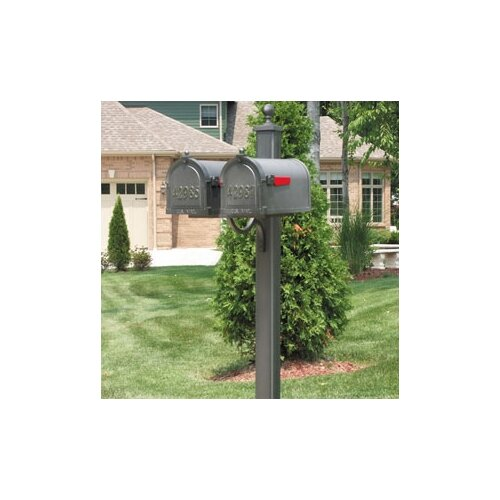 Special Lite Products Main Street Double Mailbox Post