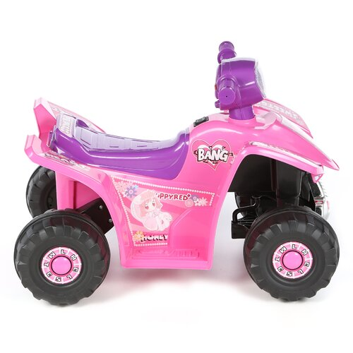 Lil' Rider Princess 6V Battery Powered ATV