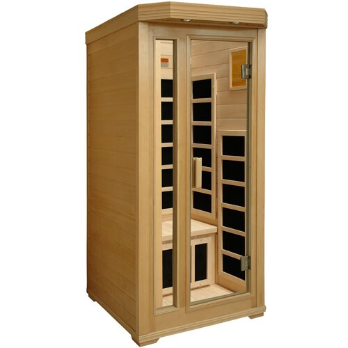 Crystal Sauna Basic Series 1 Person Carbon FAR Infrared Sauna