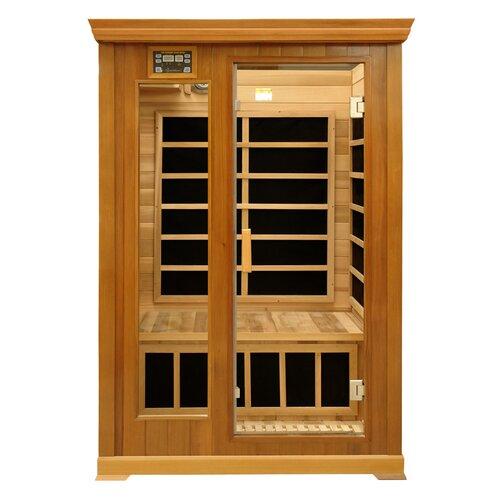 Luxury Series 2 Person Luxury Carbon FAR Infrared Sauna