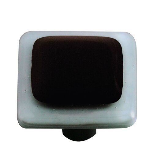 "Hot Knobs Borders 1.5"" Square Knob"