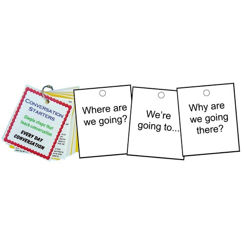 Natural Learning Concepts Conversation Starters - Every Day Conversation