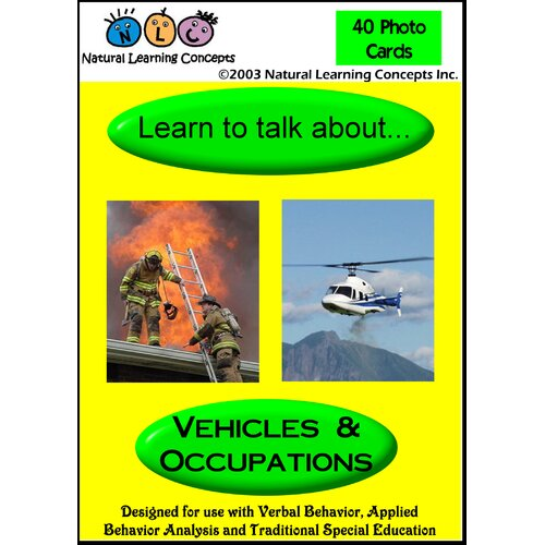 Natural Learning Concepts Learn To Talk About Vehicles and Occupations