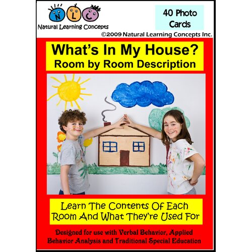 Natural Learning Concepts What's in My House?