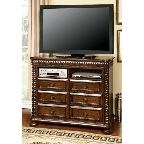 Enitial Lab Bautini 6 Drawer Media Chest