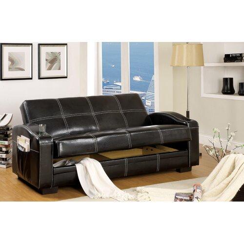 Hokku Designs Clifton Storage Sleeper Sofa