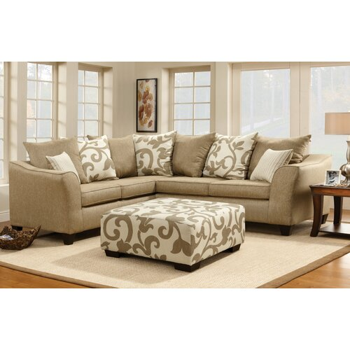 Fiona Floral Sectional