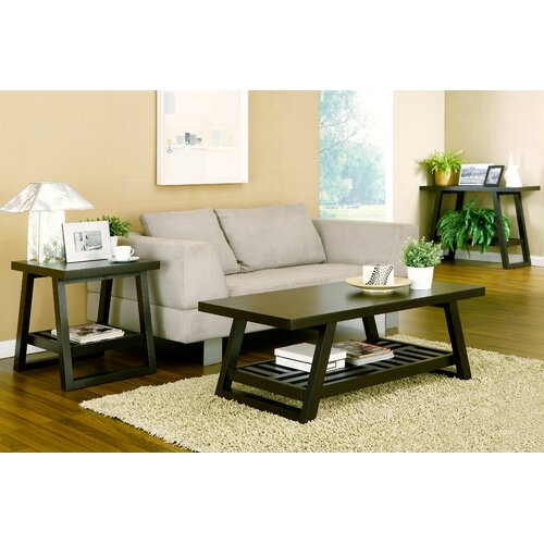 Hokku Designs Parker 2 Piece Coffee Table Set