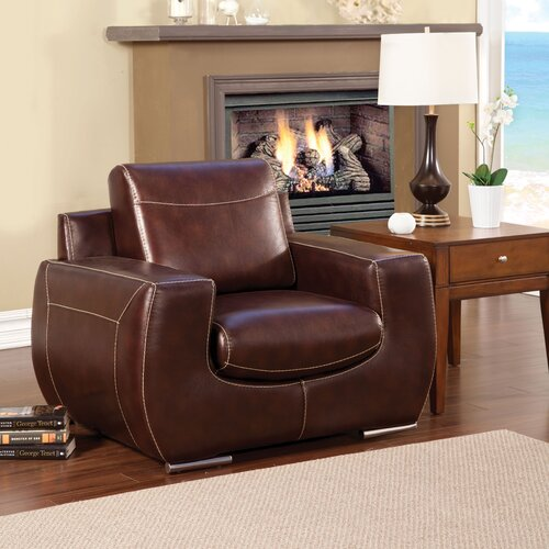 Elvira Leather Chair