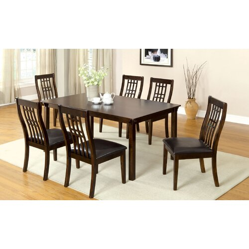 Functional 7 Piece Dining Table Set