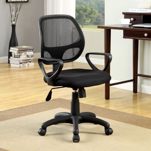 Delta High-Back Mesh Office Chair with Arms